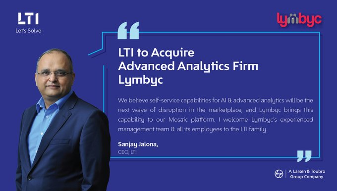 LTI signs agreement to Acquire Advanced Analytics Firm