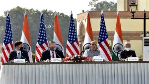 India-US 2+2 meeting